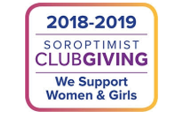 2018-2019 Soroptimist Club Giving