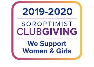 2019-2020 Soroptimist Club Giving