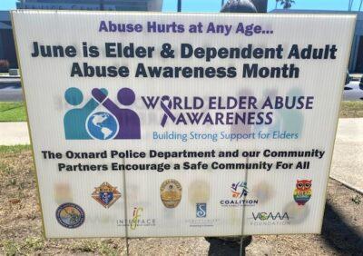 Elder & Dependent Adult Abuse Awareness Month Poster